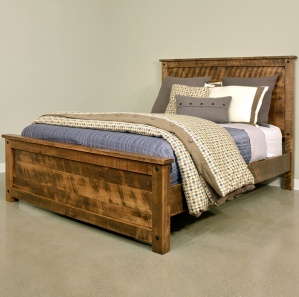 Adirondack Amish Bed