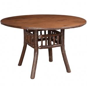 Hickory Lake & Lodge Round Amish Table
