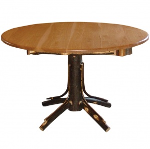 Hickory Round Farmer's Amish Table