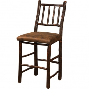 Hickory Early American Amish Barstool