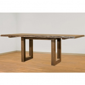 Modelli Live Edge Amish Dining Table