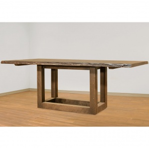 Knex Live Edge Amish Dining Table