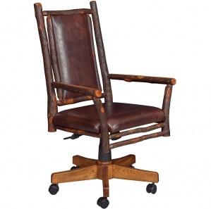 Hickory Grandpa Amish Desk Chair
