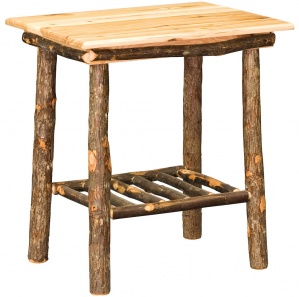 Allegheny Ladder Base Amish End Table