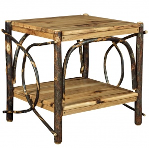 Allegheny Large Bentwood Amish End Table