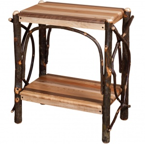 Allegheny Mixed Woods Amish End Table