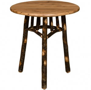 Allegheny Round Tri-Leg Amish Table