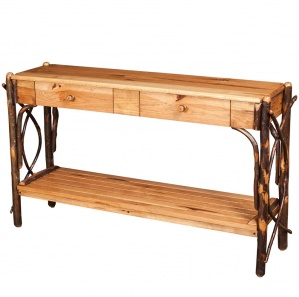 Allegheny 2 Drawer Amish Sofa Table