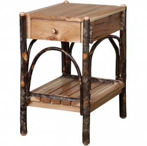 Allegheny Amish End Table with Drawer