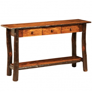 Allegheny 3 Drawer Amish Sofa Table