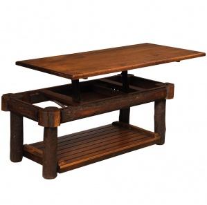 Lumberjack Amish Lift Top Coffee Table