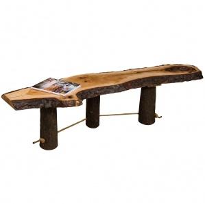 Lumberjack Amish Live Edge Freestyle Coffee Table