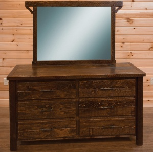 Indian Creek Amish Dresser with Mirror Option