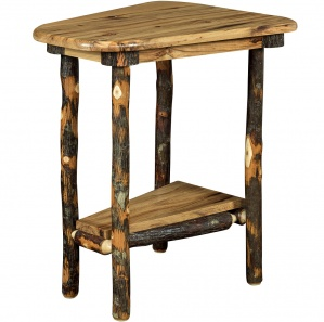 Bearwood Wedge Shaped Amish End Table