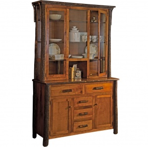 Hickory Amish Buffet with Hutch Option