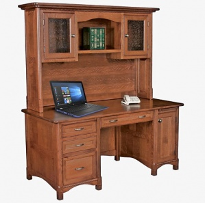 Westlake Executive Computer Desk & Optional Hutch