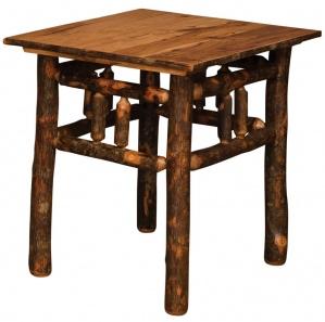 Lumberjack Amish End Table