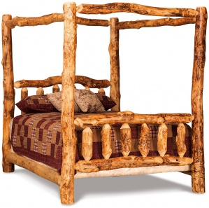 Elkhorn Amish Canopy Bed