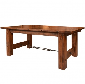 Rustic Loft Amish Dining Table