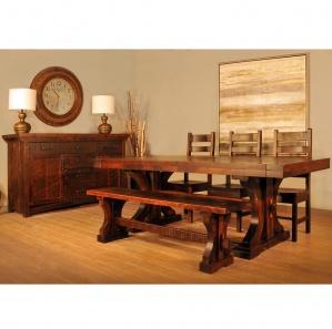 Rustic Carlisle Amish Dining Room Set