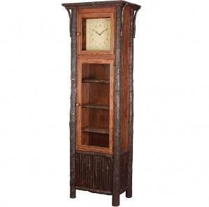 Lumberjack Amish Grandfather Clock
