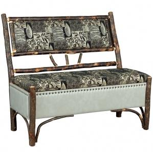 Allegheny Upholstered Amish Storage Bench
