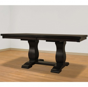 Tuscan Double Pedestal Amish Dining Table