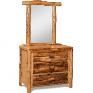 Elkhorn 3 Drawer Amish Dresser with Mirror Option
