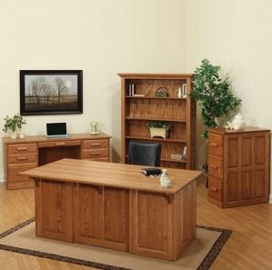 Pomeroy Office Amish Furniture Set