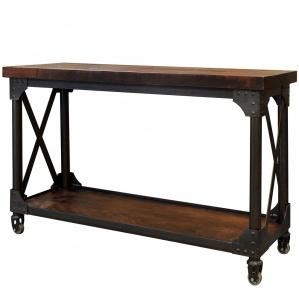 Iron Works Amish Sofa Table
