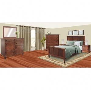 Rockwell Amish Bedroom Furniture Set