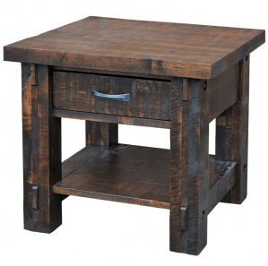 Timber Amish End Table
