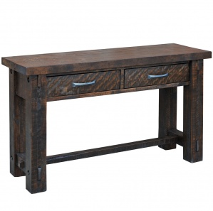 Timber Amish Sofa Table