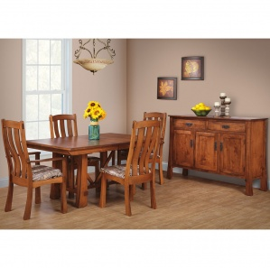 Grant Amish Dining Table Set