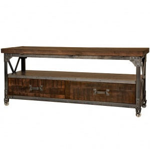 Iron Works Amish TV Stand