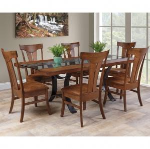 Elementals Amish Dining Room Set