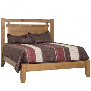 Rural Ridge Amish Panel Bed