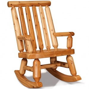 Elkhorn Amish Rocking Chair