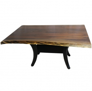 Fenton Walnut Top Dining Table