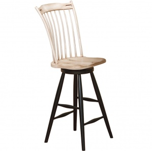 Mirabella Thumb Back Amish Bar Stool