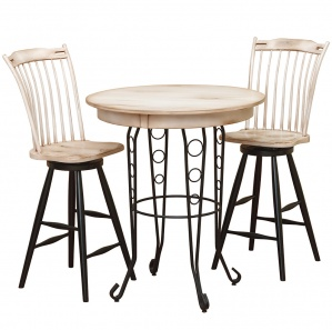 Mirabella Wrought Iron Pub Set