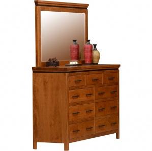 Richmond Amish Dresser with Mirror Option