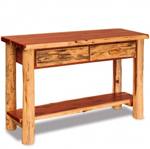 Elkhorn Amish Sofa Table