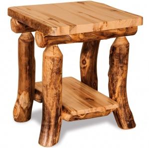 Elkhorn Amish End Table