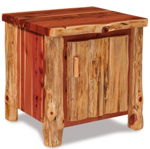 Elkhorn Amish End Table with Door