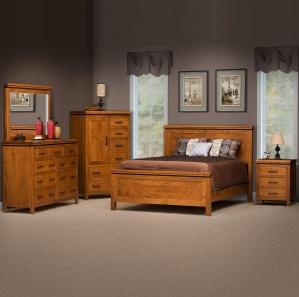 Richmond Amish Bedroom Furniture Set