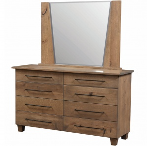 Grand Sequoia Amish Dresser with Mirror Option