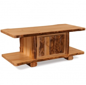 Elkhorn Amish Coffee Table with Door