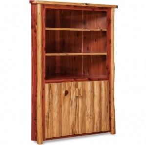 Elkhorn Amish Corner Cabinet