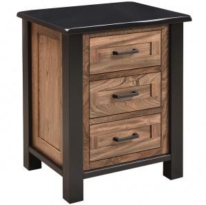 Brookstone 3-Drawer Amish Nightstand